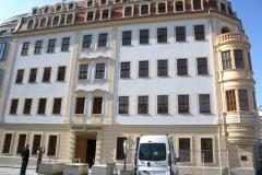 Stuck Mittelrisalit Heinrich Schütz Haus