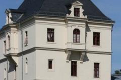 Westturm auf dem Gelände des Millitärhistorischen Museums Dresden