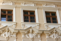 Fassadendetails Rampische Strasse 33