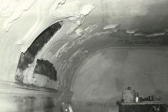 Doku Restaurierung 20(westl. Tonnengewölbe vor Schwammsanierung)